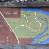 Map of Mississippi River County Park