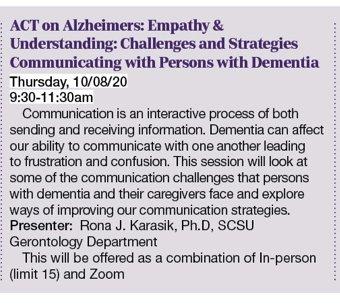 Act on Alzheimer's