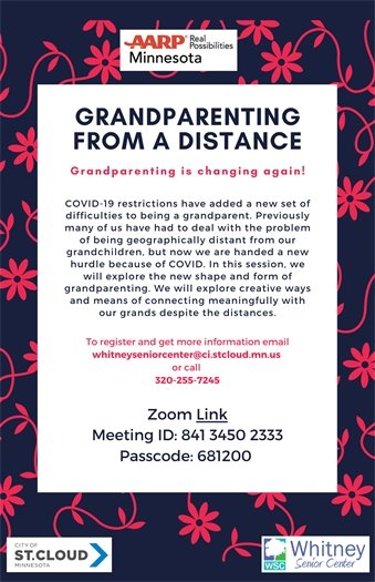 Grandparenting from a distance