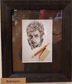 bob dylan artist drawing