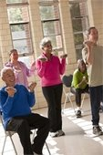 hand weight older adults exercise