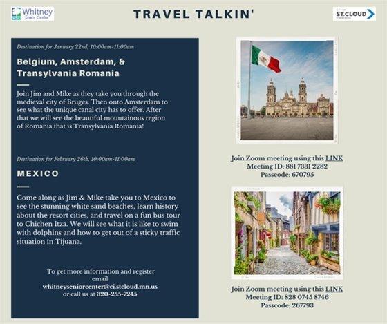 Travel Talkin'