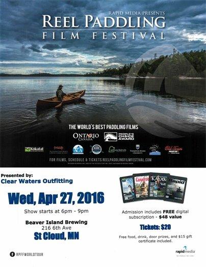 Reel Paddling Film Festival