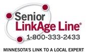Senior LinkAge Line 1-800-333-2433 Logo