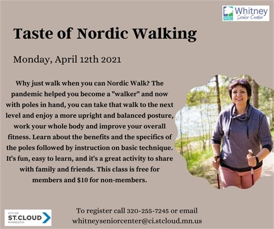 Taste of Nordic Walking