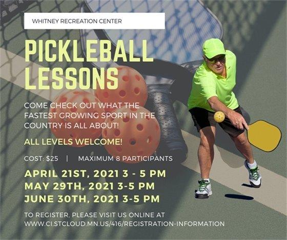 Pickleball Lessons-Recreation Center
