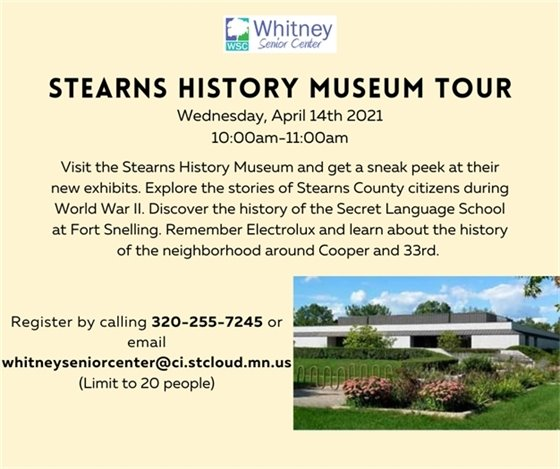 Stearns History Museum Tour