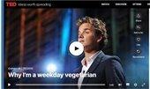 ted talk-I'm a weekday vegetarian