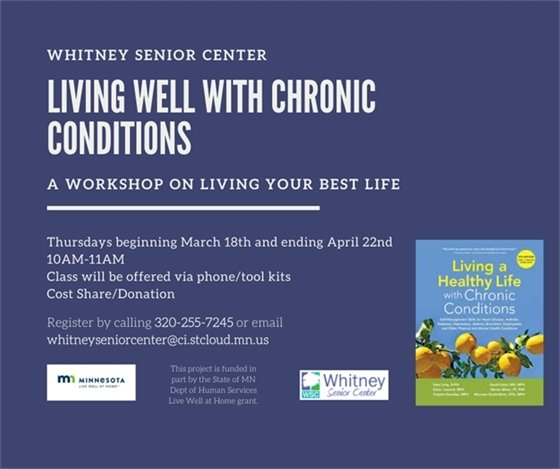 Living Well with Chronic Conditions Class Flyer