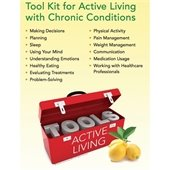Phone tool kit for living well with chronic conditions