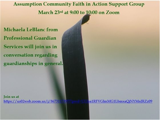 Assumption Community Faith and Action Support Group