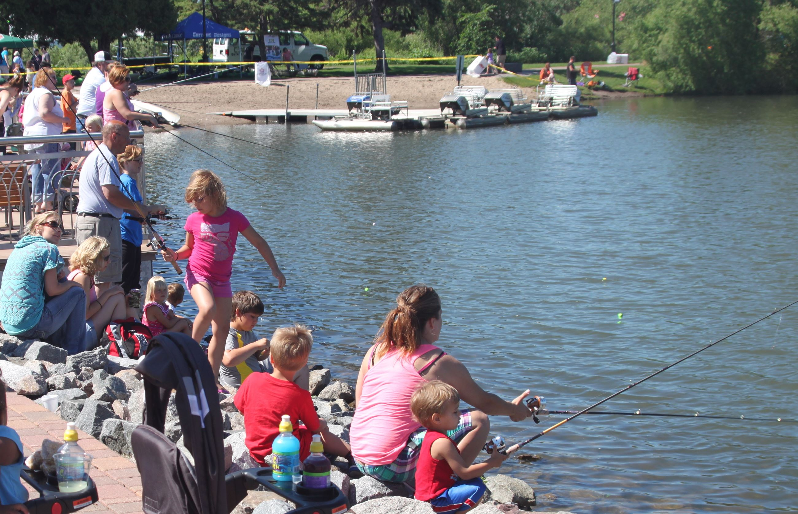 Lake George Fishing Activities St Cloud Mn Official
