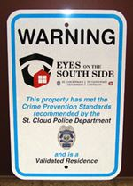 Eyes on the South Side Sign