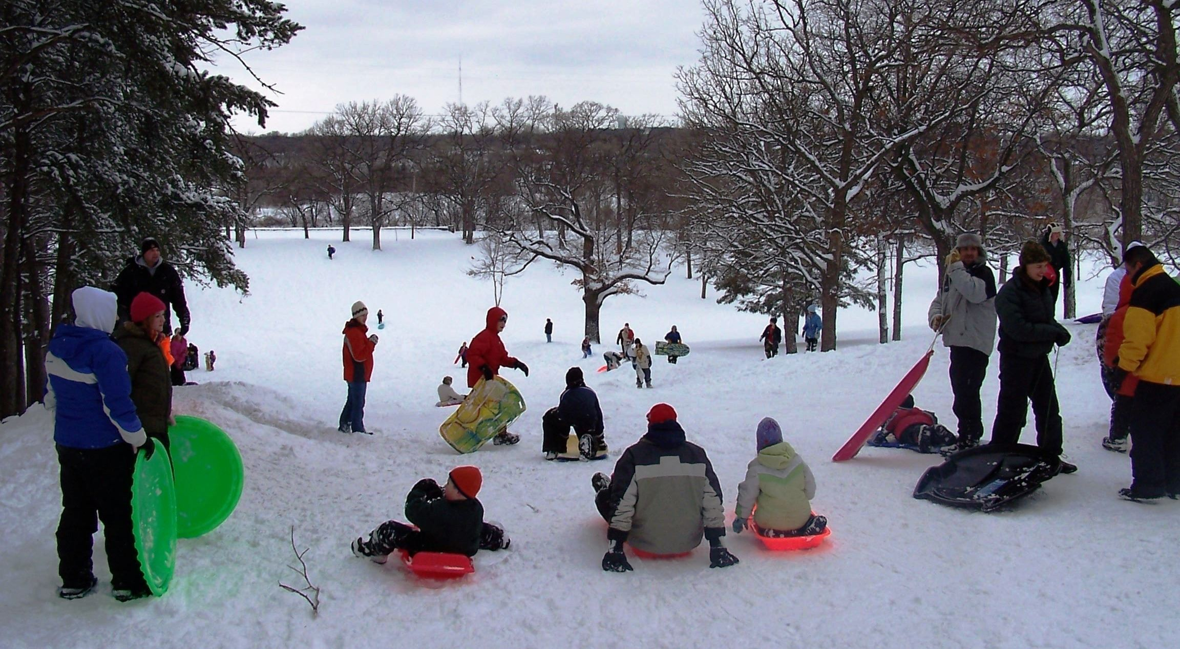 Riverside Sledding Hill