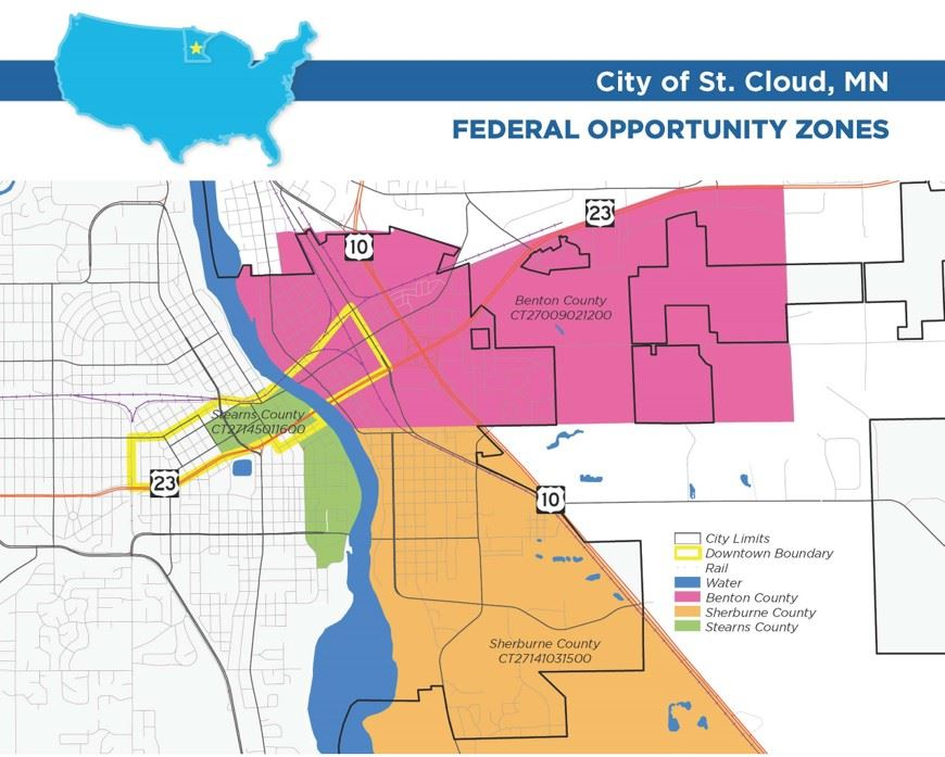Opportunity Zones St Cloud Mn Official Website - Us-cloud-map
