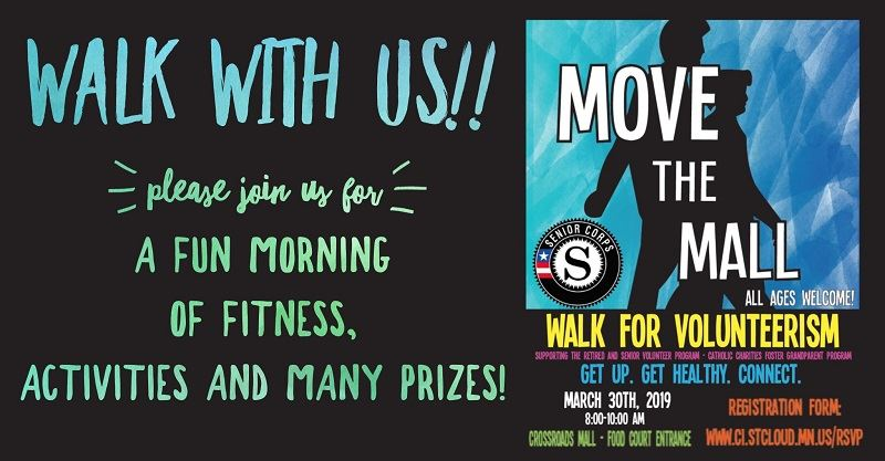 Move the Mall Walk for Volunteerism