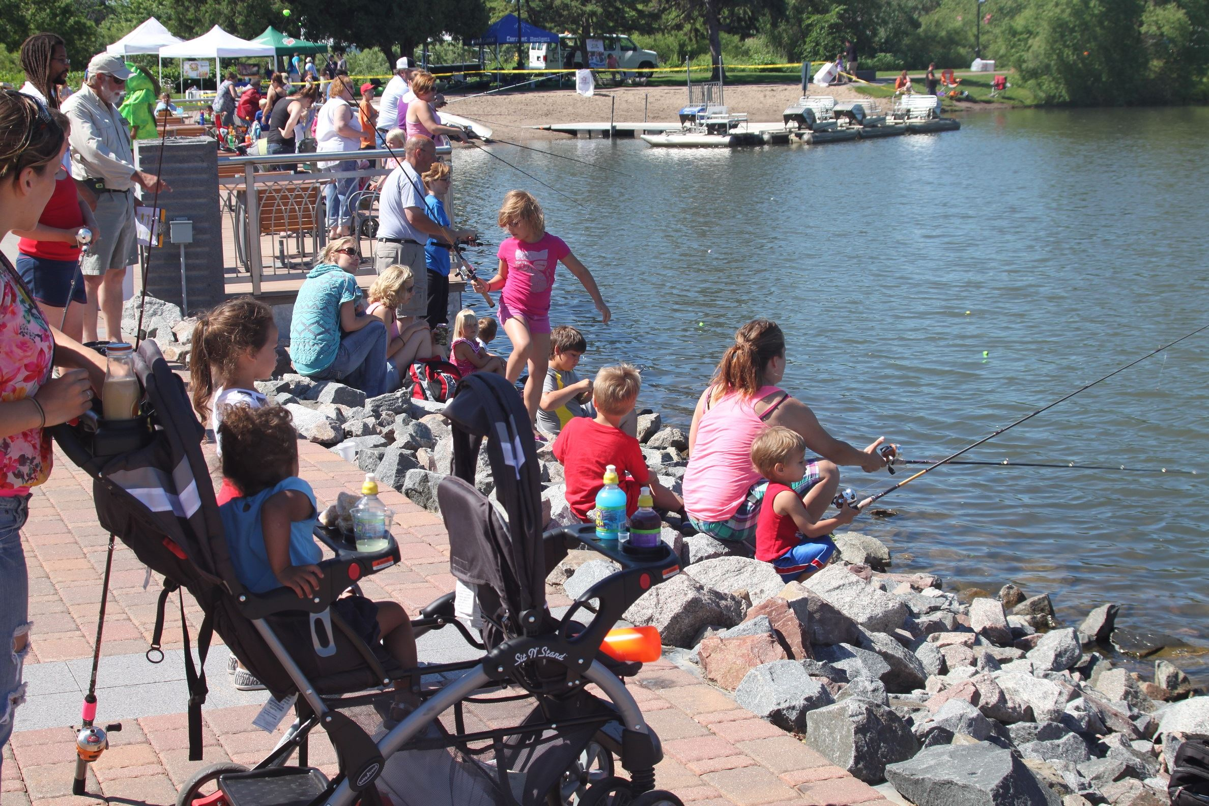 Bring a Kid Fishing Event