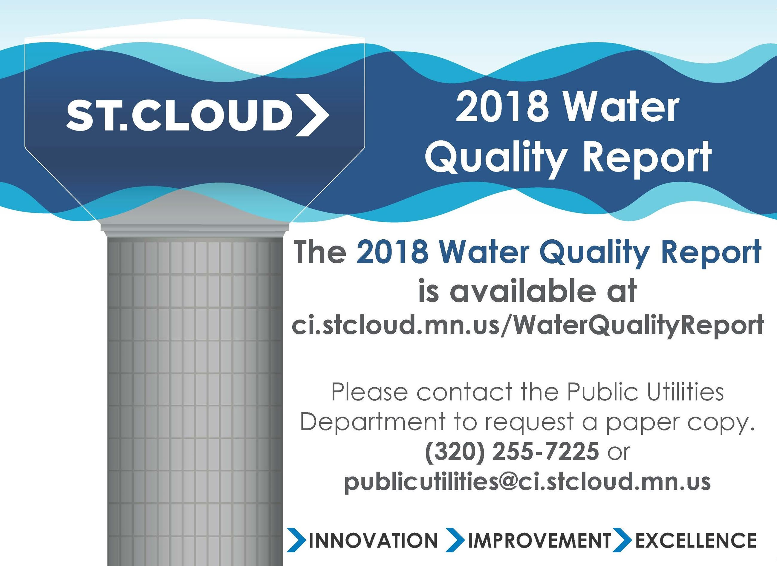 2018 Water Quality Report Magazine (half page) cropped