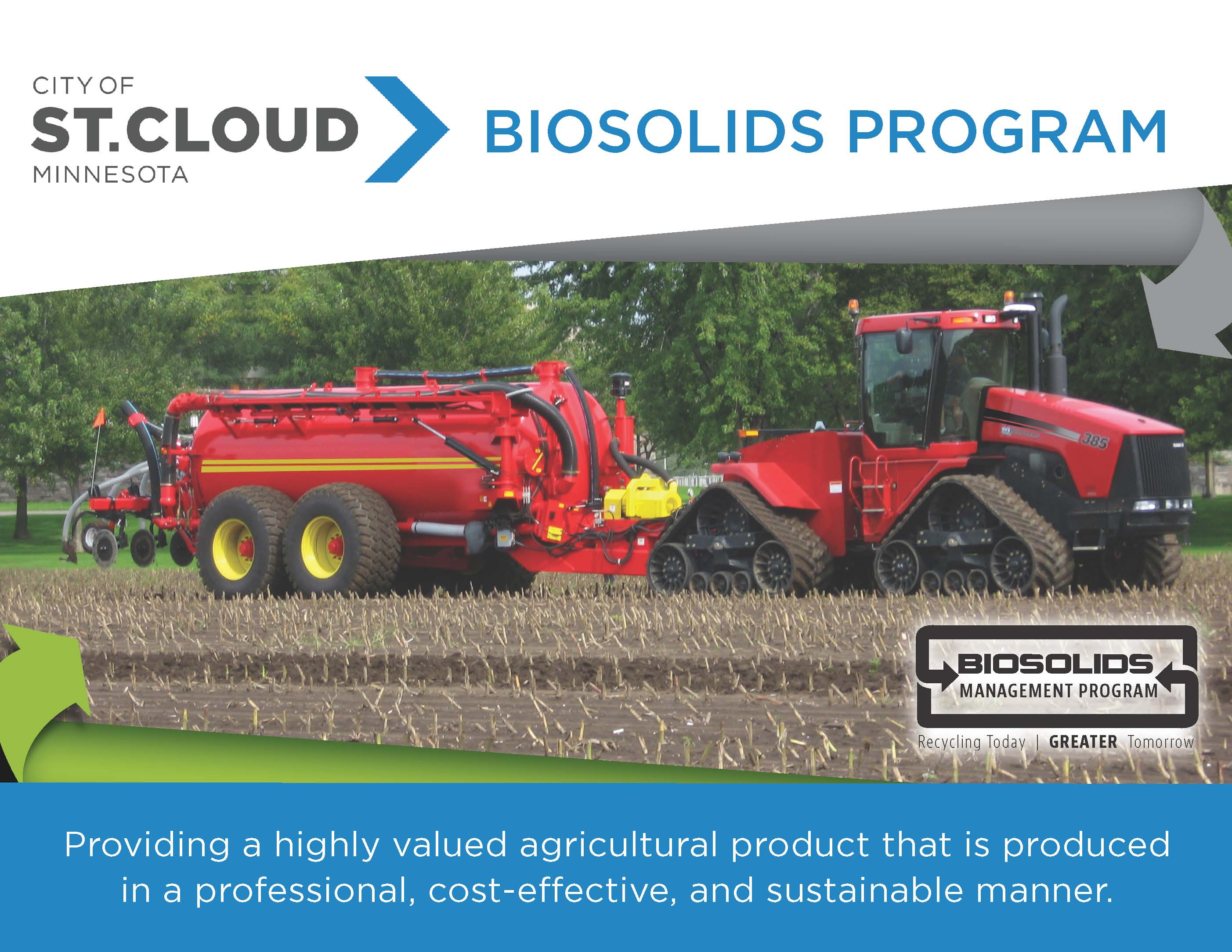 Biosolids Management Program Poster