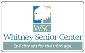 Whitney Senior Center card