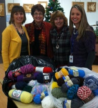 Warm Fuzzy Yarn Donation