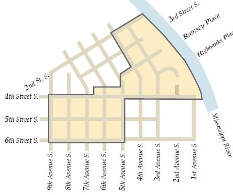 Southside Neighborhood Historic District Map