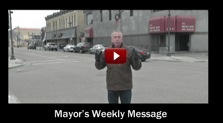 Mayors Message Web Button RED_240